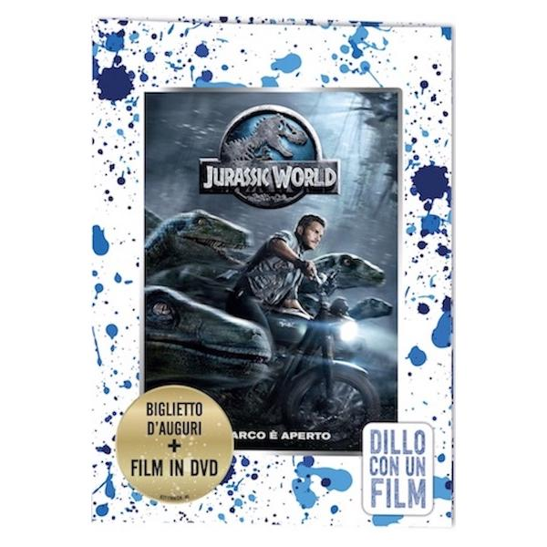 JURASSIC WORLD -BIG.AUGURI DVD ST